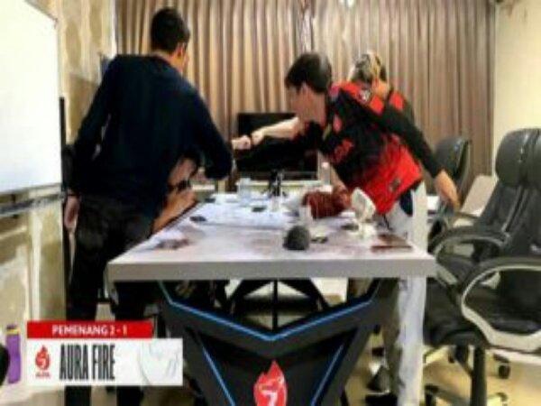 Hasil MPL ID Season 8: Aura Fire vs ONIC Esports 2-1, Naga Api Kian Membara
