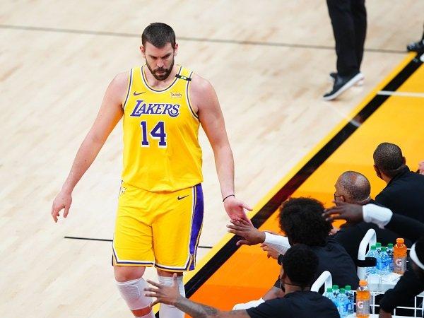 Los Angeles Lakers berpisah dengan sosok Marc Gasol.
