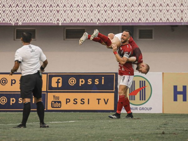 Gol Ilija Spasojevic sempurnakan comeback Bali United