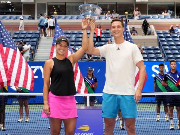 Joe Salisbury dan Desirae Krawczyk bawa pulang gelar US Open 2021