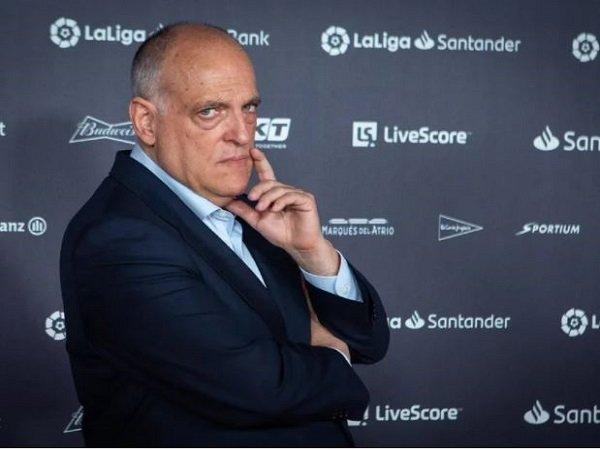 Presiden La Liga, Javier Tebas. (Images: Getty)