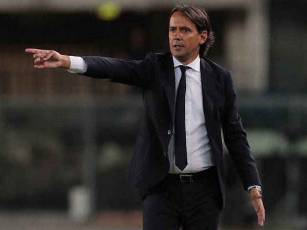 Manajer Inter Milan, Simone Inzaghi.