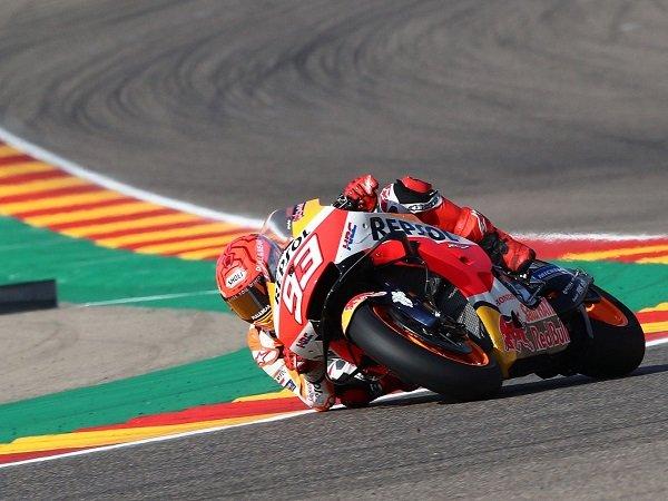 Marc Marquez ragu bisa jalani balapan GP Aragon dengan mulus.