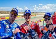 Klasemen MotoGP: Bagnaia Masih Tertinggal Jauh dari Quartararo