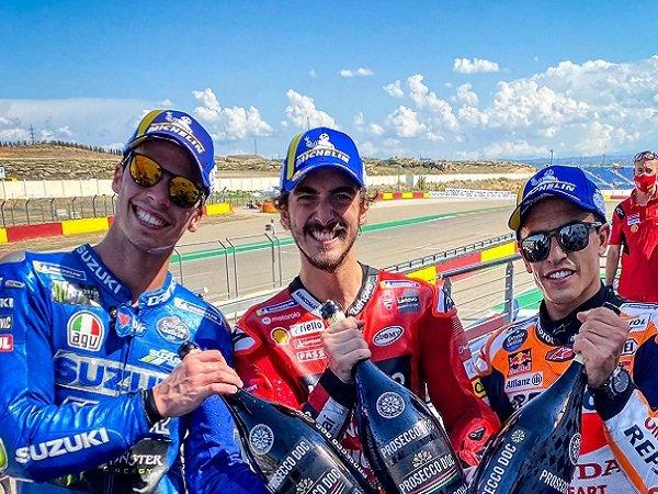 Update Klasemen Usai Kemenangan Bagnaia di MotoGP Aragon