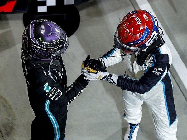 Nico Rosberg ingatkan Hamilton agar tak remehkan Russell.