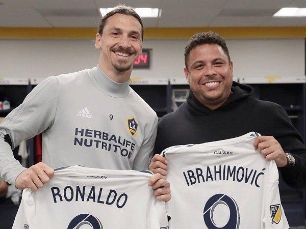 Zlatan Ibrahimovic dan Ronaldo