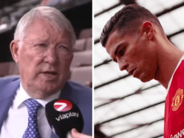 Sir Alex Ferguson ungkap perannya dalam transfer Cristiano Ronaldo ke Manchester United