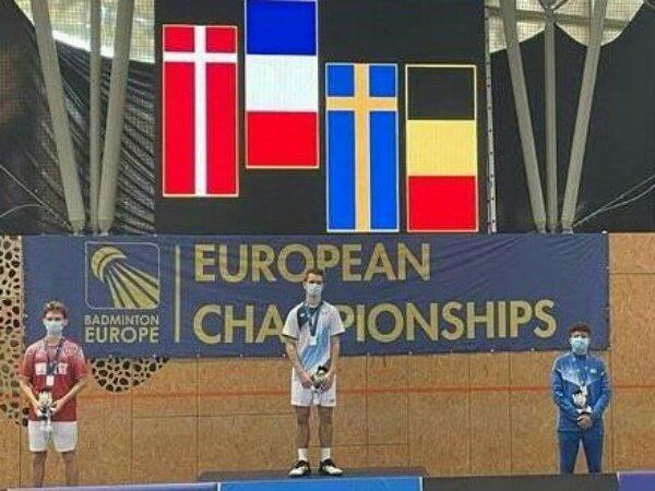 Alex Lanier Juara Tunggal Putra Kejuaraan Eropa U17 2021
