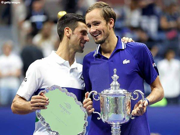 Daniil Medvedev bawa pulang gelar Grand Slam pertama dalam kariernya di US Open 2021