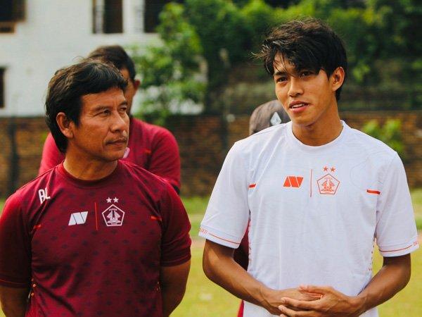 Eks pemain timnas Indonesia U-19 Yudha Febrian resmi bergabung dengan Persik Kediri