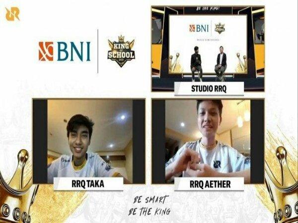 Team RRQ Gelar Turnamen Esports Pelajar Terbesar di Indonesia