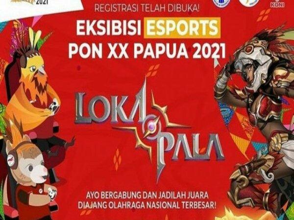 Empat Tim Siap Tarung di Babak Utama Esports Lokapala PON XX Papua