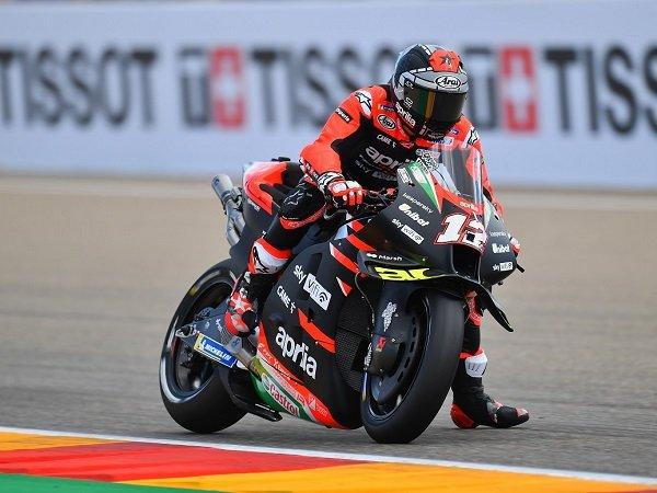 Maverick Vinales tetap puas finish ke-18 di GP Aragon.