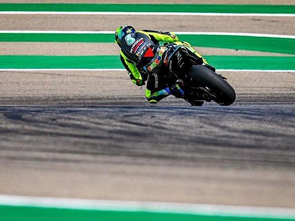 Valentino Rossi benar-benar kesulitan tampil apik di Sirkuit Aragon.