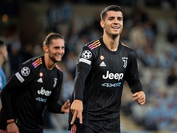 Alvaro Morata sebut Juventus tak pernah panik.