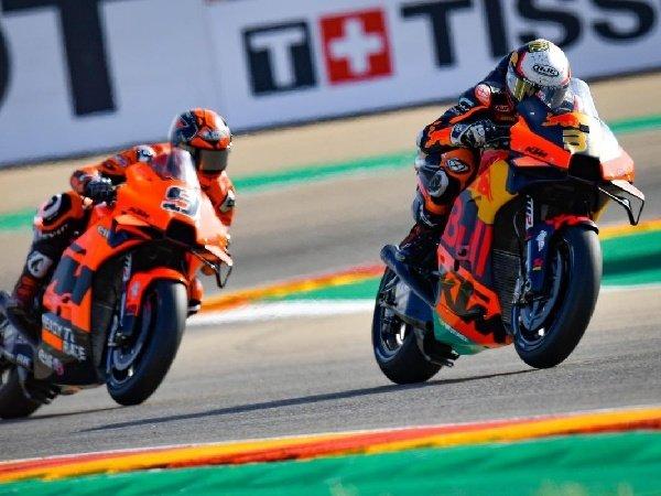 Brad Binder berharap KTM bisa tingkatkan kecepatan motor supaya lebih konsisten.