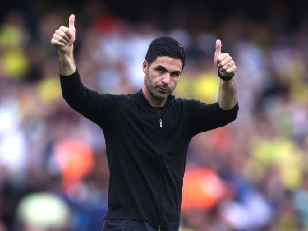 Mikel Arteta mengawasi kemenangan Arsenal atas Norwich City
