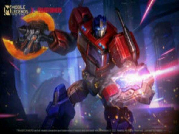 Skin Optimus Prime Hadir ke Mobile Legends Berikut Prievew-nya