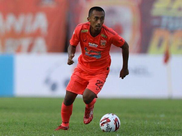 Gelandang senior Borneo FC, Sultan Samma