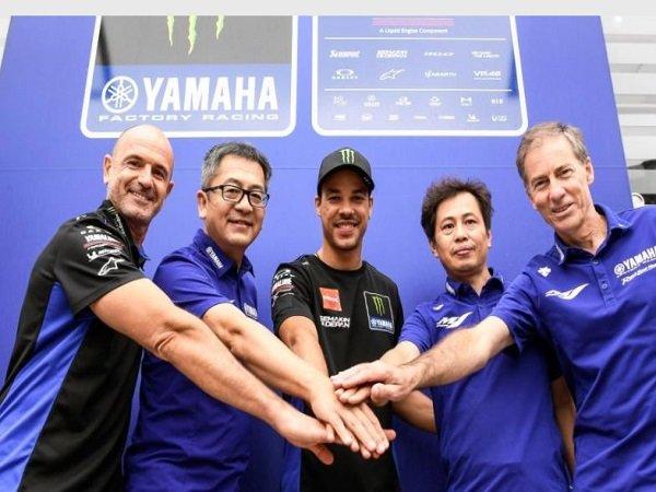 Monster Energy Yamaha resmi promosikan Franco Morbidelli.