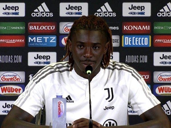 Moise Kean tak merasa dibebani oleh ekspektasi pengganti Ronaldo.