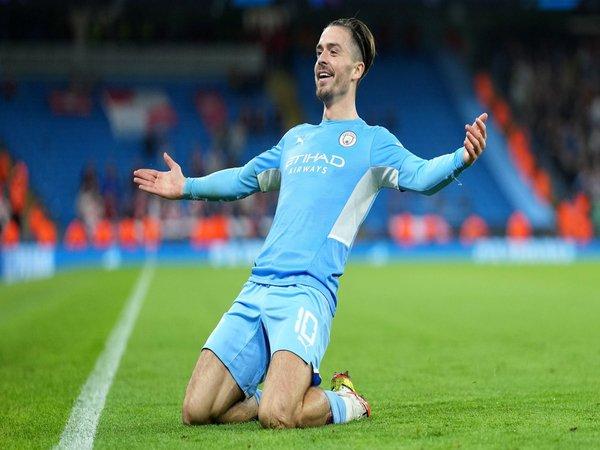 Performa impresif Jack Grealish bersama Manchester City mendapatkan pujian dari rekan satu timnya yaitu Nathan Ake / via Getty Images