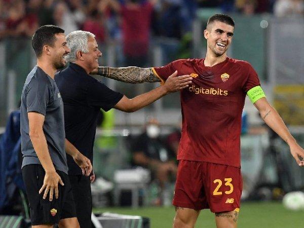 Bk AS Roma, Gianluca Mancini bicara tentang hubungannya dengan Jose Mourinho