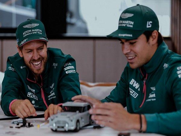 Aston Martin pertahankan duet Sebastian Vettel dan Lance Stroll.