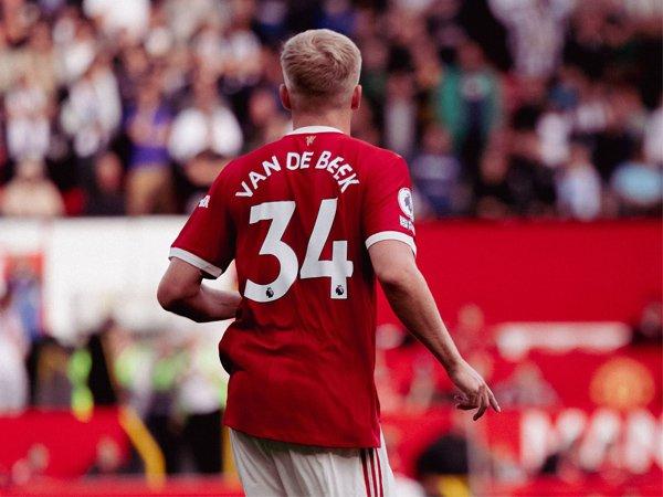 Gelandang Manchester United, Donny van de Beek.
