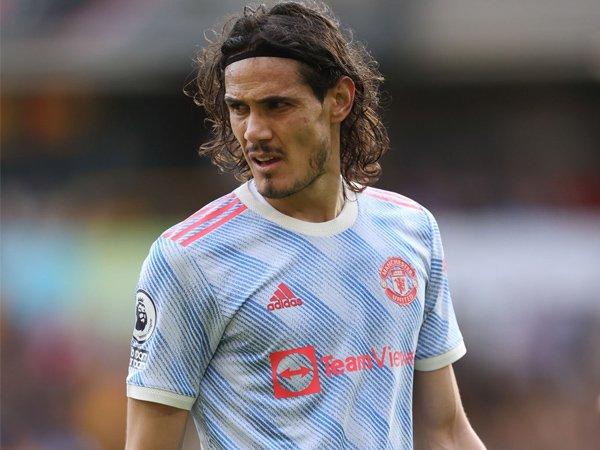 Penyerang Manchester United, Edinson Cavani.