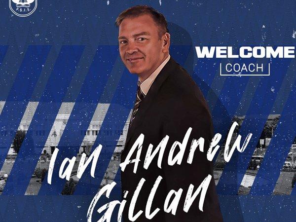 Ian Andrew Gillan resmi ditunjuk sebagai pelatih PSIS Semarang