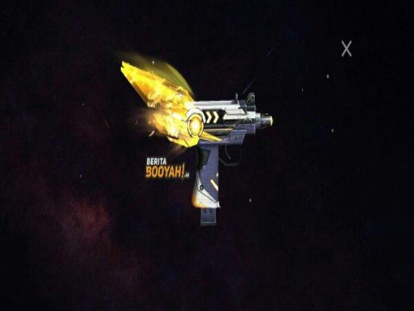 Mini Uzi - Amber Megacypher Gun Skin Jadi Handgun Terbaik di Free Fire?
