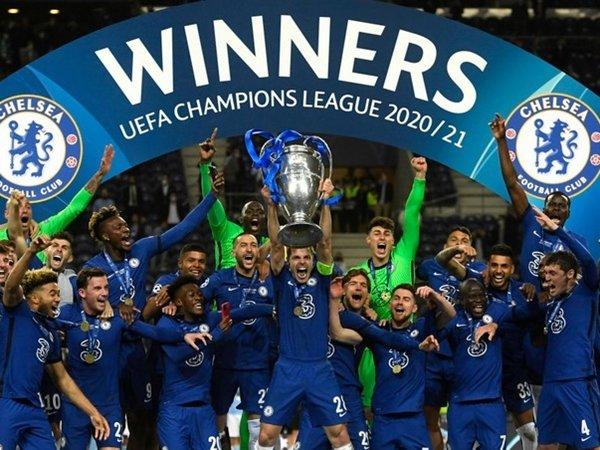 Chelsea juara Liga Champions 2020-21 (Sumber: Getty)