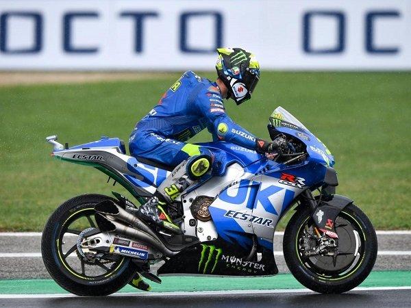Joan Mir puas bisa tampil kompetitif di hari pertama GP San Marino.