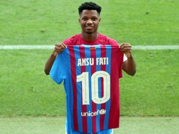 Barcelona mengharapkan Ansu Fati kembali tampil pekan depan.