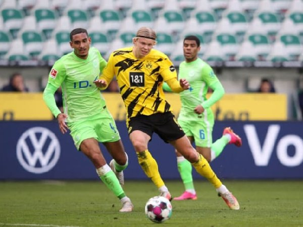 Maxence Lacroix puji striker Borussia Dortmund, Erling Haaland