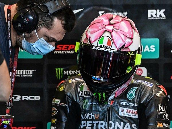 Valentino Rossi siapkan strategi ampuh demi raup poin di Misano.
