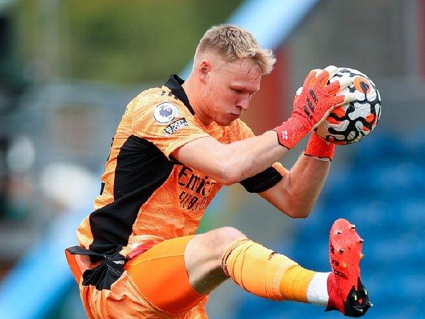 Aaron Ramsdale membuat tiga clean sheet dalam tiga pertandingan