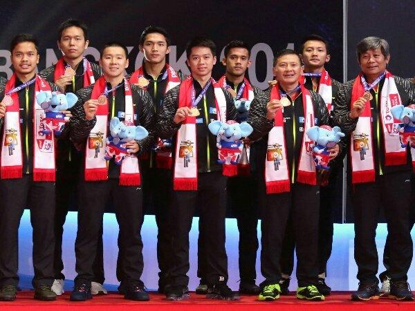 Berikut Skuad Indonesia di Kejuaraan Piala Thomas 2020
