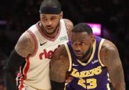 Carmelo Anthony Kaget Saat Dibujuk Gabung Lakers Oleh LeBron James