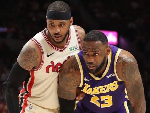 Carmelo Anthony kaget saat dihubungi langsung oleh LeBron James untuk gabung Lakers.