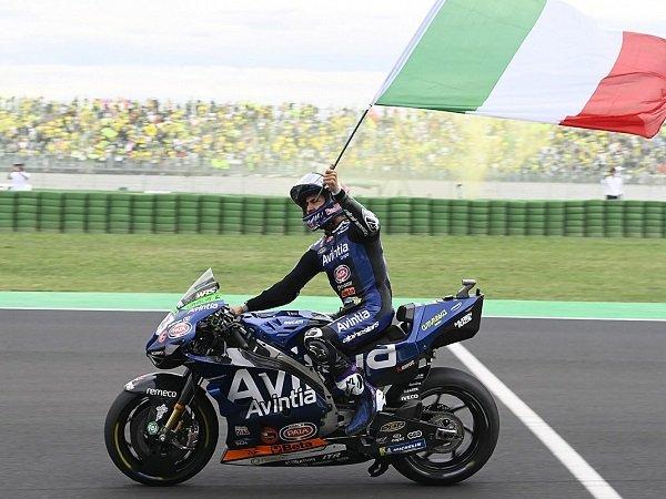 Enea Bastianini tak menyangka bisa tembus tiga besar di GP San Marino.