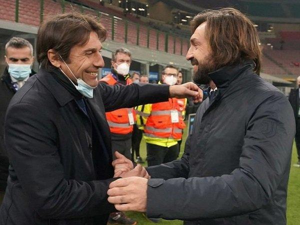 Antonio Conte dan Andrea Pirlo berpotensi gantikan Ronald Koeman di Barcelona.