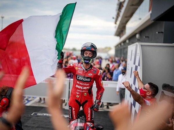 Francesco Bagnaia ungkap faktor utama yang buatnya bisa menang di GP San Marino.