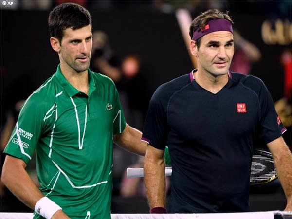 Roger Federer puji prestasi memukau Novak Djokovic di Grand Slam musim 2021