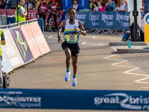 Pemenang Bristol Half Marathon Omar Ahmed Didiskualifikasi