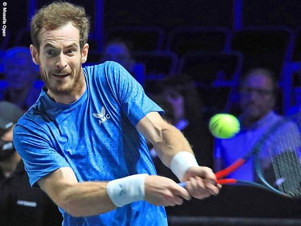 Andy Murray jejakkan kaki di babak kedua Moselle Open 2021