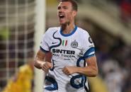 Bahagianya Edin Dzeko Usai Bantu Inter Hajar Fiorentina