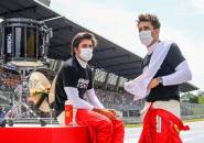 Carlos Sainz Jr Ingin Tiru Gaya Balap Dari Charles Leclerc